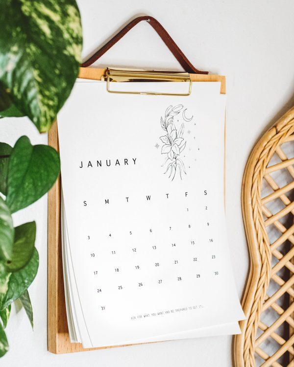 manifestation calendar